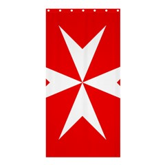Cross Of The Order Of St  John  Shower Curtain 36  X 72  (stall)  by abbeyz71