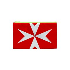 Cross Of The Order Of St  John  Cosmetic Bag (xs) by abbeyz71