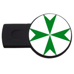 Cross Of Saint Lazarus  Usb Flash Drive Round (4 Gb) by abbeyz71