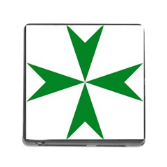 Cross Of Saint Lazarus  Memory Card Reader (square) by abbeyz71