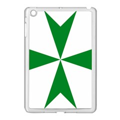 Cross Of Saint Lazarus  Apple Ipad Mini Case (white) by abbeyz71