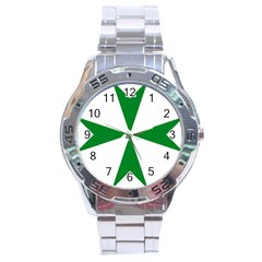 Cross Of Saint Lazarus Stainless Steel Analogue Watch by abbeyz71