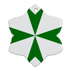 Cross Of Saint Lazarus Ornament (snowflake)