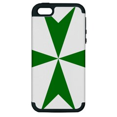 Cross Of Saint Lazarus Apple Iphone 5 Hardshell Case (pc+silicone) by abbeyz71