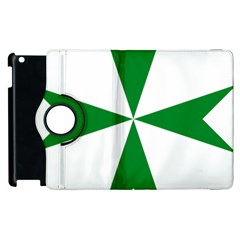 Cross Of Saint Lazarus Apple Ipad 2 Flip 360 Case by abbeyz71
