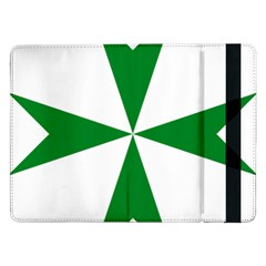 Cross Of Saint Lazarus Samsung Galaxy Tab Pro 12 2  Flip Case by abbeyz71