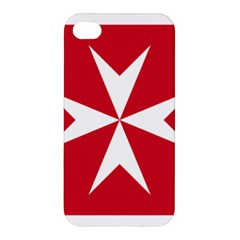 Civil Ensign Of Malta Apple Iphone 4/4s Premium Hardshell Case by abbeyz71
