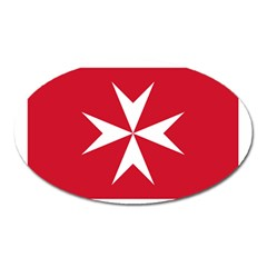 Civil Ensign Of Malta Oval Magnet by abbeyz71