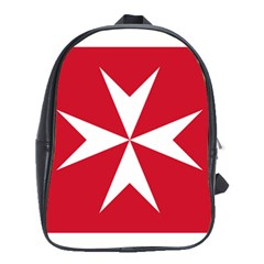 Civil Ensign Of Malta School Bags(large)  by abbeyz71