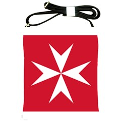 Civil Ensign Of Malta Shoulder Sling Bags by abbeyz71