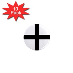 Cross Moline 1  Mini Magnet (10 Pack)  by abbeyz71
