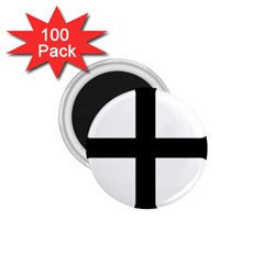 Cross Moline 1 75  Magnets (100 Pack)  by abbeyz71