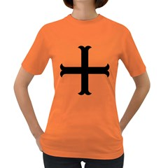 Cross Moline Women s Dark T-shirt by abbeyz71