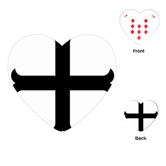 Cross Moline Playing Cards (heart)  by abbeyz71