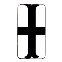 Cross Moline Apple Iphone 4/4s Seamless Case (black) by abbeyz71