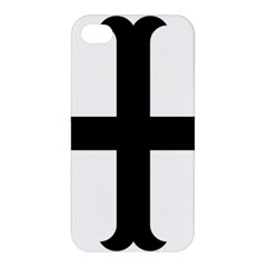Cross Moline Apple Iphone 4/4s Premium Hardshell Case by abbeyz71