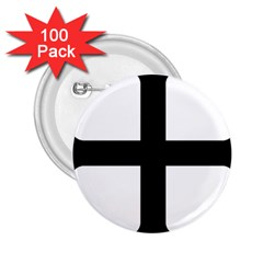Cross Molin 2 25  Buttons (100 Pack)  by abbeyz71