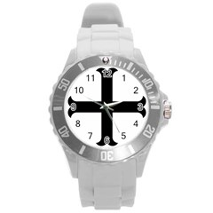Cross Molin Round Plastic Sport Watch (l) by abbeyz71