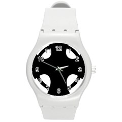 Cross Of Novgorod Round Plastic Sport Watch (m) by abbeyz71