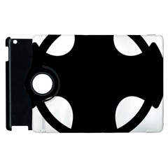 Cross Of Novgorod Apple Ipad 3/4 Flip 360 Case by abbeyz71
