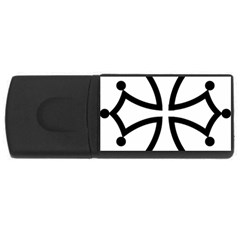 Occitan Cross\ Usb Flash Drive Rectangular (4 Gb)