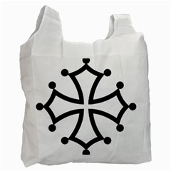 Occitan Cross\ Recycle Bag (one Side) by abbeyz71