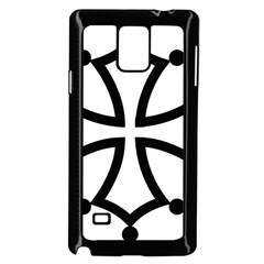 Occitan Cross\ Samsung Galaxy Note 4 Case (black) by abbeyz71