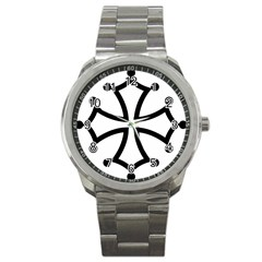 Occitan Cross Sport Metal Watch by abbeyz71