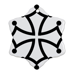 Occitan Cross Ornament (snowflake) by abbeyz71