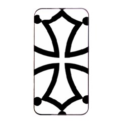 Occitan Cross Apple Iphone 4/4s Seamless Case (black) by abbeyz71
