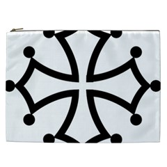 Occitan Cross Cosmetic Bag (xxl)  by abbeyz71