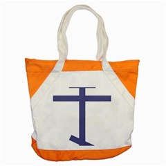 Orthodox Cross  Accent Tote Bag by abbeyz71