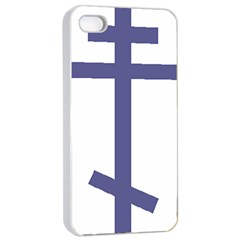 Orthodox Cross  Apple Iphone 4/4s Seamless Case (white) by abbeyz71