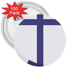 Orthodox Cross  3  Buttons (100 Pack)  by abbeyz71