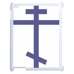 Orthodox Cross  Apple Ipad 2 Case (white) by abbeyz71