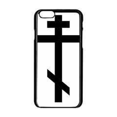 Orthodox Cross  Apple Iphone 6/6s Black Enamel Case by abbeyz71