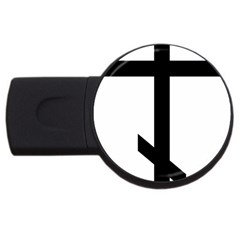 Orthodox Cross  Usb Flash Drive Round (4 Gb) by abbeyz71