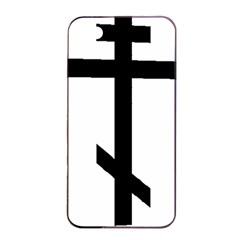 Orthodox Cross  Apple Iphone 4/4s Seamless Case (black) by abbeyz71