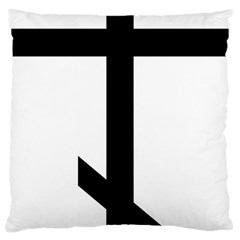 Orthodox Cross  Large Cushion Case (two Sides) by abbeyz71