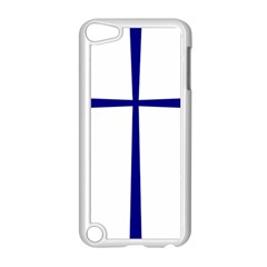 Byzantine Cross  Apple Ipod Touch 5 Case (white) by abbeyz71