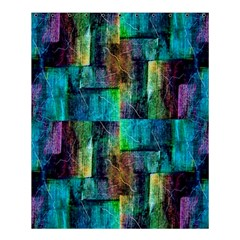 Abstract Square Wall Shower Curtain 60  X 72  (medium)  by Costasonlineshop
