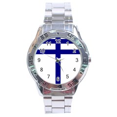 Papal Cross  Stainless Steel Analogue Watch by abbeyz71