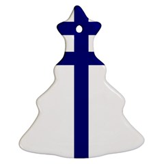 Papal Cross  Christmas Tree Ornament (two Sides) by abbeyz71