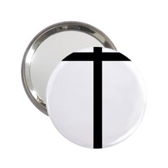 Papal Cross 2 25  Handbag Mirrors by abbeyz71