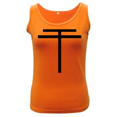Papal Cross Women s Dark Tank Top by abbeyz71