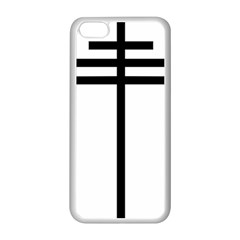 Papal Cross Apple Iphone 5c Seamless Case (white) by abbeyz71