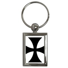 Cross Patty  Key Chains (rectangle)  by abbeyz71