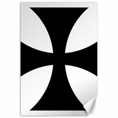 Cross Patty  Canvas 20  X 30   by abbeyz71