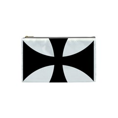 Cross Patty  Cosmetic Bag (small)  by abbeyz71
