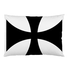 Cross Patty Pillow Case (two Sides) by abbeyz71
